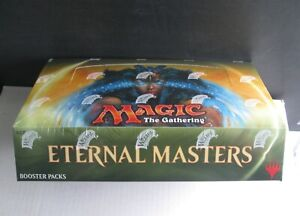 MTG ETERNAL MASTERS  Booster Box Factory Sealed English 24 packs Magic !!