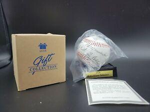 Vintage AVON 1936 Hall Of Fame Commemorative Baseball w/ Display Stand 1996