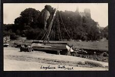 Laugharne Castle - real photographic postcard