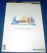 Final Fantasy X / X-2 Hd Remaster Collector's Edition Ps3 *New-Sealed-Free Ship!