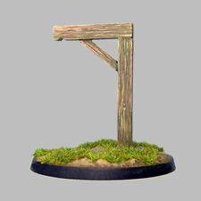 TQD MC10 20mm Diecast Diorama Items: Gibbets (Gallows) 2 Models