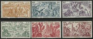 FRENCH INDIAN SETTLEMENTS - 1946  AIRS  SET