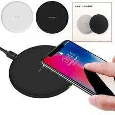 Qi Wireless Fast Charger Charging Pad for Apple iPhone X 8 Samsung S8