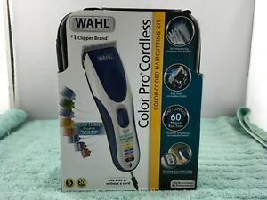 Wahl Color Pro Cordless Rechargeable Hair Clipper & Trimmer (9649) - NEW