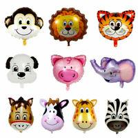 Animal Zoo Safari Party Supplies Birthday Decorations Foil Helium Balloons AU