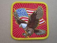 USA Eagle Patriotic Military Cloth Patch Badge