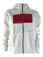 Nike Poland Authentic AW77 Mens Hooded Jacket Sweatshirt White / Red RRP £70