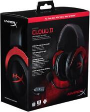 New HyperX Cloud II Gaming Headset for PC PS4 Xbox One Nintendo Switch Red
