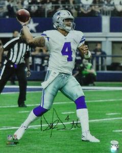 Dak Prescott Autographed/Signed Dallas Cowboys 16x20 Photo JSA 19337 PF