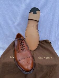 Grant Stone Fairfield Oxford British Tan 10.5D New try-on