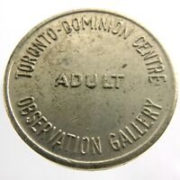 TD Toronto Dominion Centre Observation Gallery Adult Ontario Canada Token P394