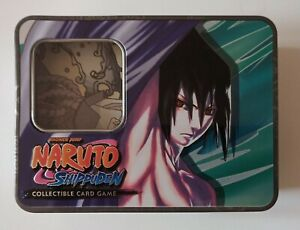 Naruto Shippuden Collectible Card Game Tin 2 Of 3 Sasuke
