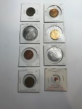 Vintage Tokens. Lot Of 8. All Different. Great Condition! Arcade, N.Y. Transit,