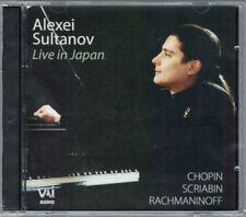 Alexei SULTANOV Live in Japan CHOPIN RACHMANINOV SCRIABIN Piano Sonata CD Tokyo