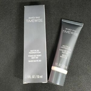MARY KAY TIMEWISE MATTE 3D FOUNDATION BEIGE N 200 (1 fl. oz.) (NEW IN BOX)