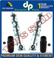 Steering Inner Outer Tie Rod Rods Assembly Rack Boot Boots Kit for BMW E46 325i