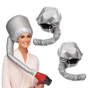 Portable Adjustable Soft Hair Drying Cap Bonnet Hood Hat For Handheld Blow Dryer