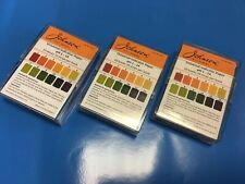 Universal 1-14 pH Indicator 200 Test Paper Strips in a tidy case, made in the UK