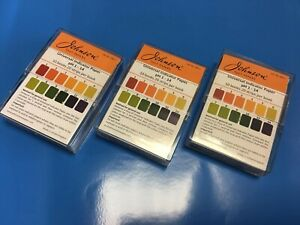 Universal Paper Indicator pH 1-14, 200 Test Strips in a Tidy Case Made in the UK