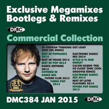 Commercial Collection 384 Club Hits Bootleg Remix & Megamixes DJ Double Music CD
