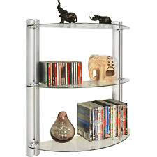 Adjustable Glass Wall Storage Shelves - CH1533