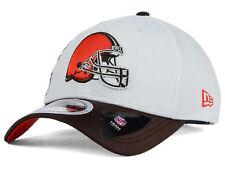 Cleveland Browns new NFL Zoom Slice 3930 Flex Fit Hat Medium/Large M/L $30
