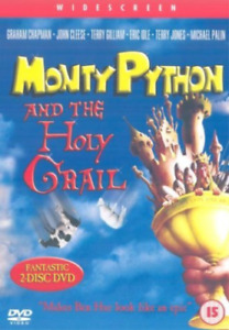 Monty Python And The Holy Grail DVD (2 Disc) WIDESCREEN EDITION - 1974 MOVIE