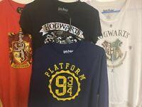 Bulk Lot of 4 Official Harry Potter at 9 3/4 Women Shirts   / Apparel