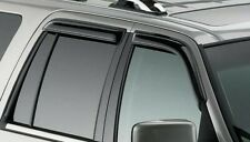 NEW OEM Ford Side Window Deflectors Set VGL7Z-18246-A Lincoln Navigator 2006-17