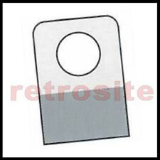 500 Self Stick Clear Plastic Hang Tabs Tags Round Hole Adhesive Package Hangers