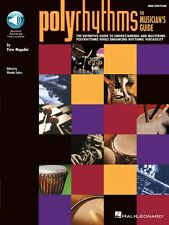 Polyrhythms The Musician's Guide Percussion Book and Audio New 006620053