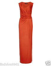 M&S Autograph Drape Maxi Dress, Size 12 Bnwt-RRP £65