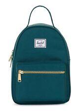Herschel Nova Mini Backpack Rucksack Tasche Deep Teal Grün Neu