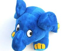 Peluche veilleuse doudou minutée musicale berceuse enfant bébé éléphant 28 cm