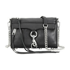 Rebecca Minkoff Mini MAC Black Ladies Crossbody Handbag HS16EFCX01