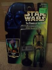 "Star Wars POTF EV-9D9 with Datapad Holo Card ""BRAND NEW"""