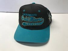 "Sacramento Gold Miners ""The Classic"" Starter Snapback Baseball Hat Script Cfl"