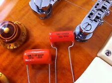 .022uf .015uf  Orange Drop Tone Caps  (2X) Capacitors 1 Pair