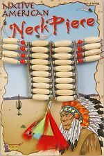 Native American Indian Beaded Necklace Choker Costume Accessory