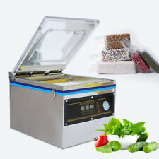 Used-800W Chamber Packaging Machine Commercial Tabletop Vacuum Food Sealer
