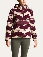 Nuevo Para mujeres The North Face campshire Top Coat Chaqueta Con Capucha Suéter Lana