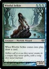 WISTFUL SELKIE Eventide MTG Blue/Green Creature — Merfolk Wizard Unc