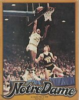 FEB 3 1979 COLLEGE NCAA BASKETBALL program NOTRE DAME vs DAYTON
