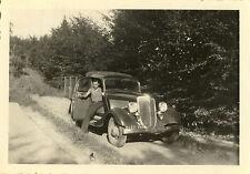 PHOTO ANCIENNE - VINTAGE SNAPSHOT - AUTOMOBILE VOITURE CAMION CAMIONNETTE - CAR