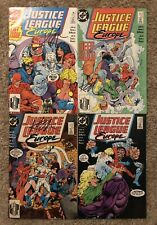 JUSTICE LEAGUE EUROPE #1-2-3-5 Signed By Keith Giffen 1989 DC Comics
