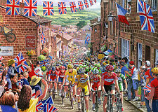 Gibsons - 1000 PIECE JIGSAW PUZZLE - Le Tour De Yorkshire