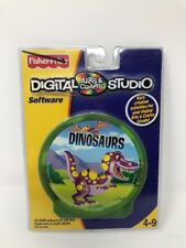 Dinosaurs Fisher Price Digital Arts & Crafts Studio Software Ages 4-9 NEW NIP