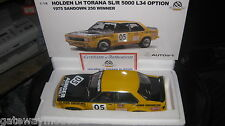 1/18 AUTOart BIANTE  HOLDEN LH L34 TORANA SL/R 5000 BROCK 1975 SANDOWN WINNER