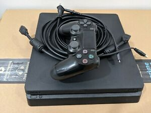 Sony PlayStation 4 Slim 1 TB Console - Black w/ Controller and great condition