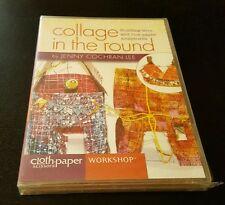 Collage In The Round DVD wire rice sculptures Cloth Paper Scissors Workshop NEW